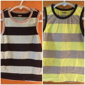 2 Gymboree tanks boys size 5/6